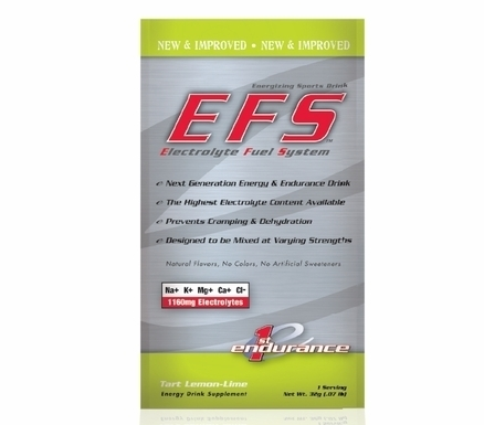 First Endurance EFS - Single Serving