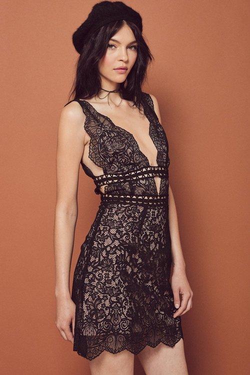 Mon Cheri Mini Dress