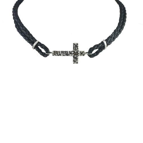 Mini Kurosu Leather Choker