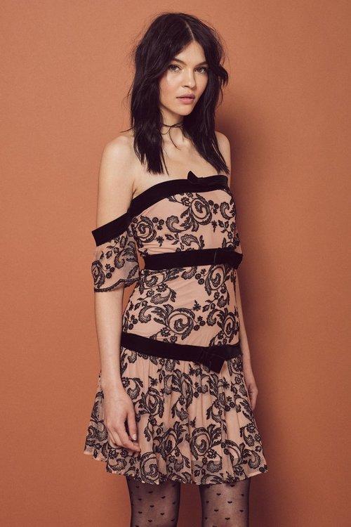 Clemence Off-Shoulder Dress