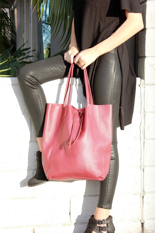 Simplicity Leather Tote