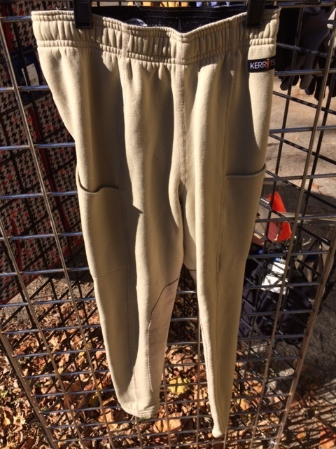 Consignment Kerrits Winter Riding Tights Tan Child M