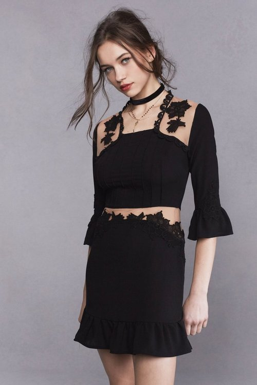 Lilou Applique Dress