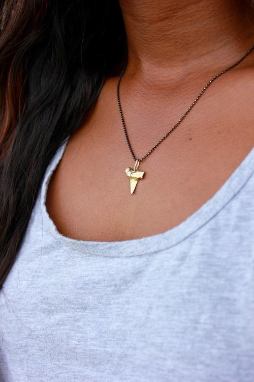Liken Shark Tooth Necklace