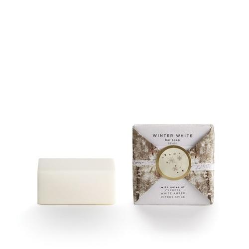 Winter White mini soap