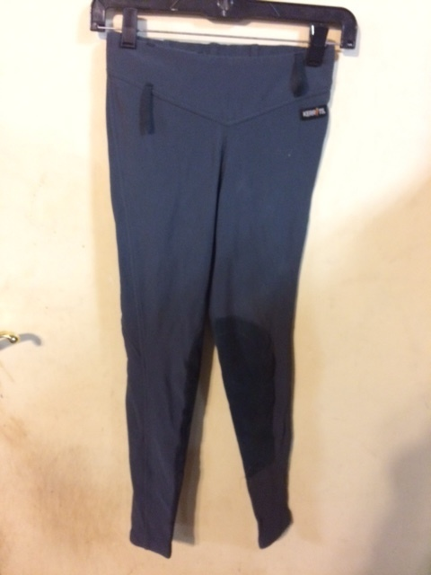 Consignment Microcord Tights Grey XS