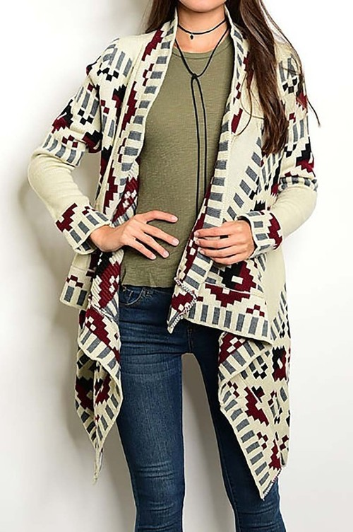 Gabriella open sweater