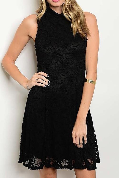 Eliza lace cocktail dress
