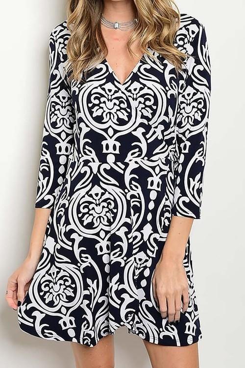 Coralie wrap dress