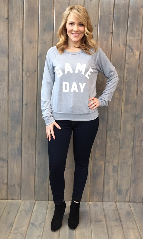 Game Day Heather Pullover