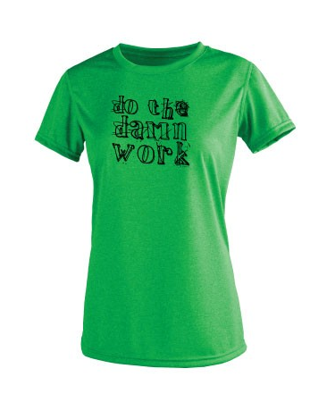 Women's EH Do the Damn Work - Vegas Tee