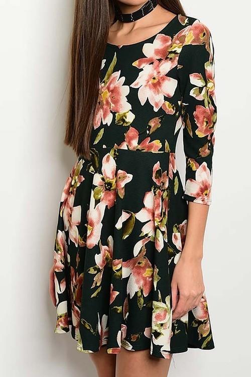 Winter Bouquet dress