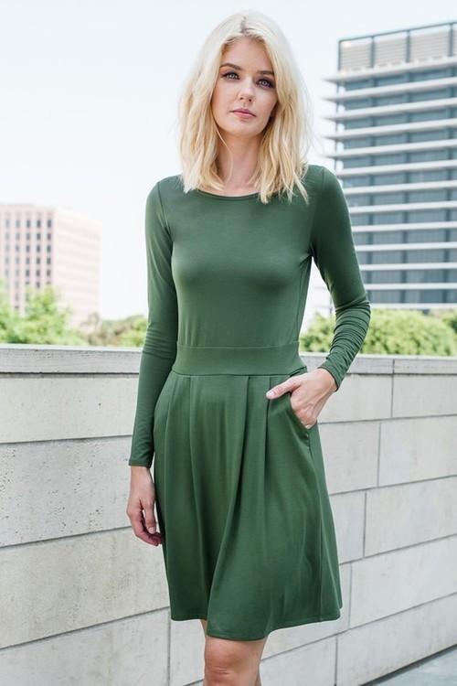 Bella dress w/ pockets