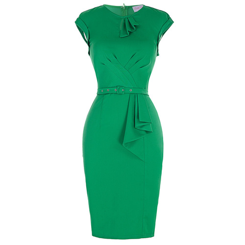 Monica dress in Green *Instore and Online*