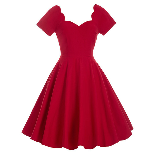 Bettie dress in red *Online Exclusive*