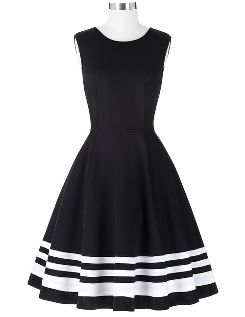 Zooey dress in B/W *Online Exclusive*