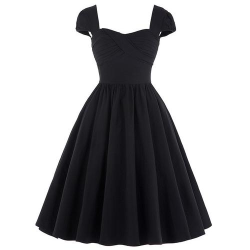 Greta Dress in Black or Red *Online Exclusive*