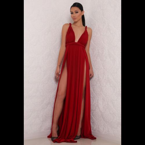 Aphrodite Long Leg Slit Dress