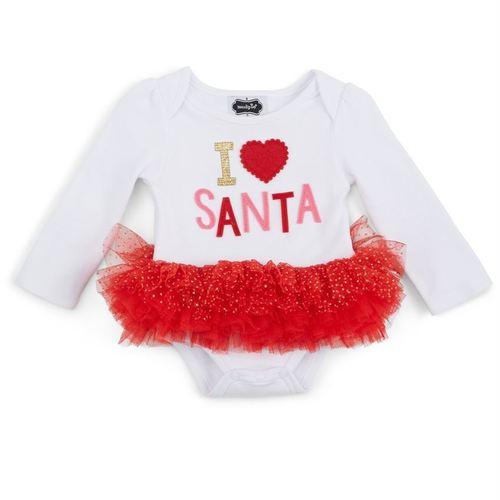 I Love Santa Tutu
