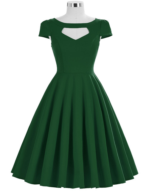 Grace Dress in Green *Instore and Online*