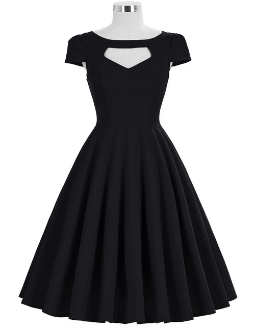 Grace Dress in Black *Online Exclusive*
