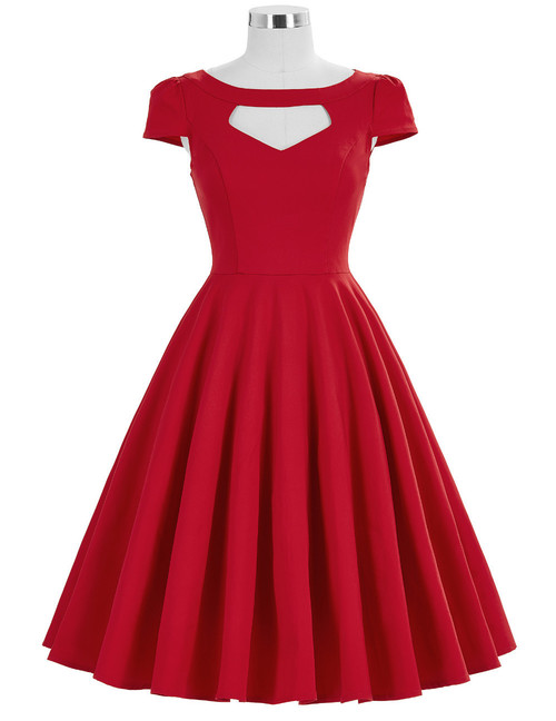 Grace Dress in Red
