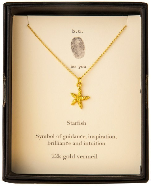 Simple Starfish Necklace