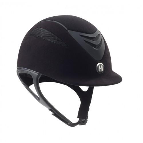 One K Defender Suede Helmet Black Large