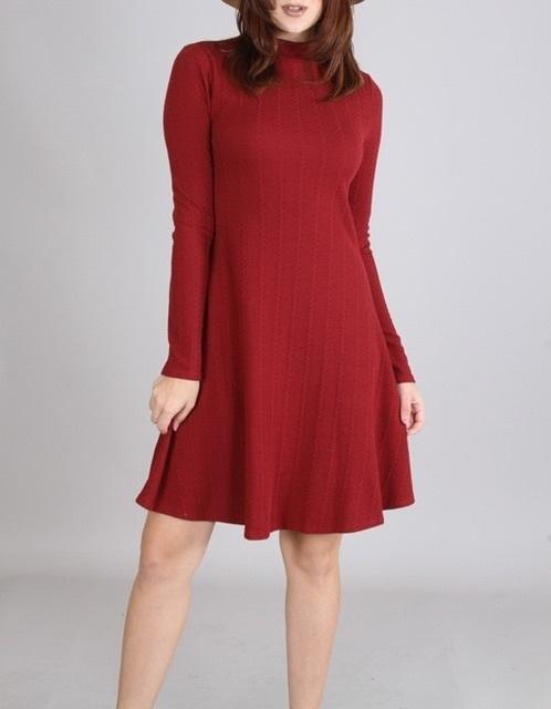 Millie dress (Wine)