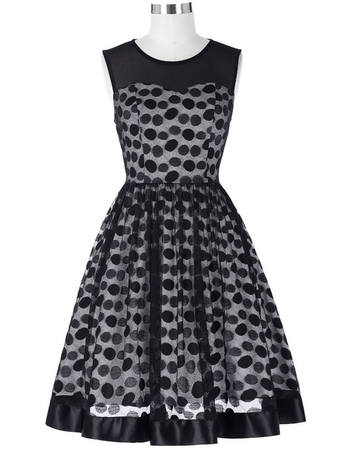 Lula Dress in lace polkadot *Online Exclusive*