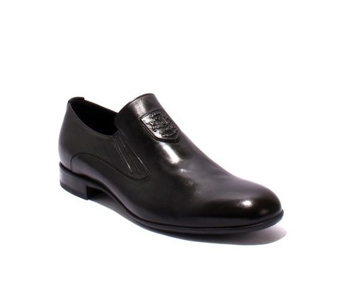 Black Leather Classic Shoes