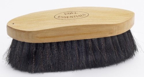Wood Back Dandy Brush with Horse Hair Natural Large Dandy
