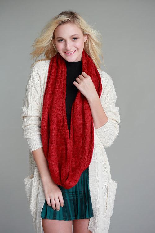 Classic infinity scarf