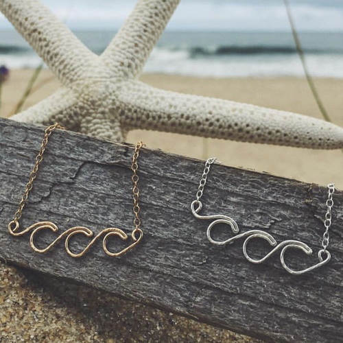 Triple Wave Necklace