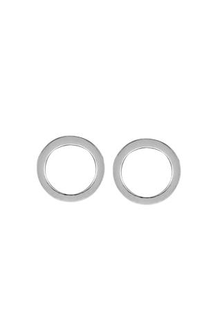 Circle Cutout Stud Earrings
