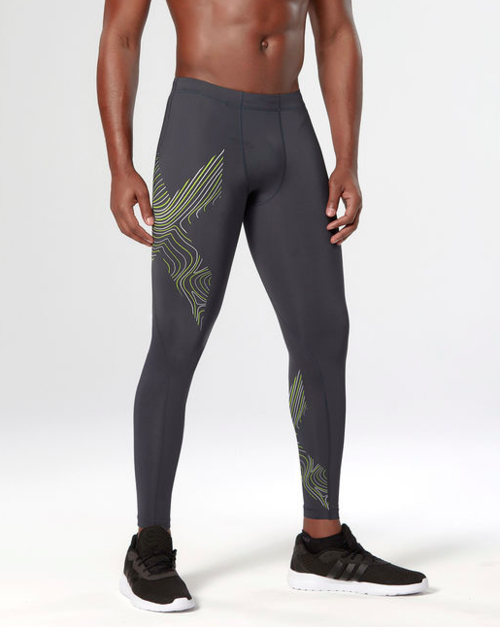 Men's 2XU Hyoptik Compression Tights