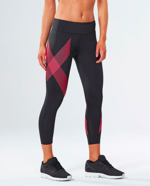 Women's 2XU Mid-Rise Compression 7/8 Tights