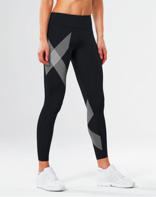 Women's 2XU Mid-Rise Compression Tights