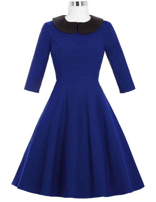 Wendy Dress in royal Blue *Online Exclusive*