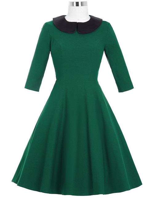 Wendy Dress in Green *Online Exclusive*