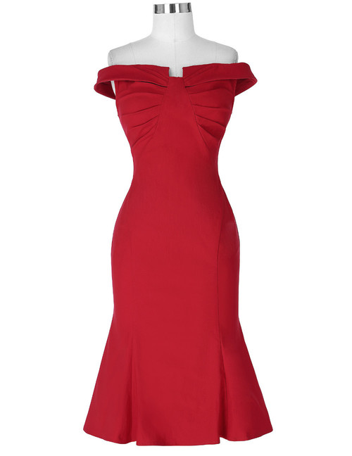 Mara dress in Red OR Black *Online Exclusive*