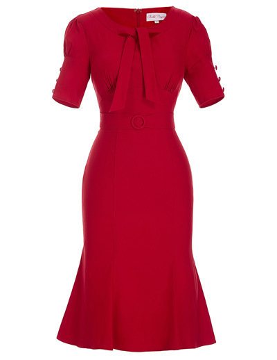 Ava dress in Red *Instore and Online*