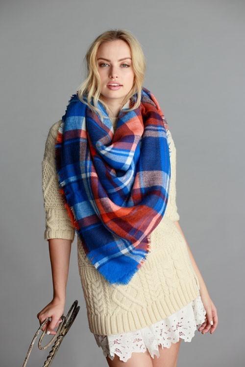 Ice Rink blanket scarf