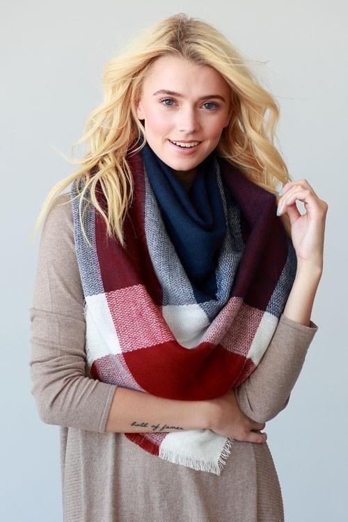 Ski Bunny blanket scarf