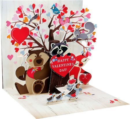 Woodland Valentine Card
