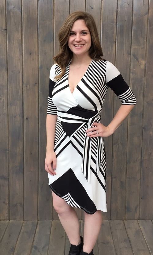 Michelle Striped Dress