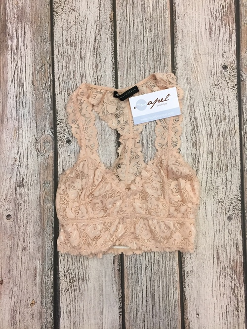 Lace Bralette Blush