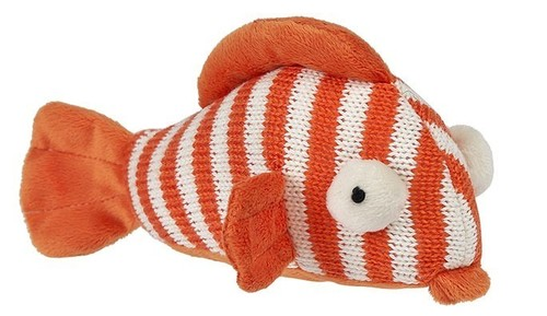Striped Fish Rattle