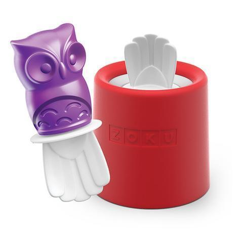 Owl Character Ice Pop Mold
