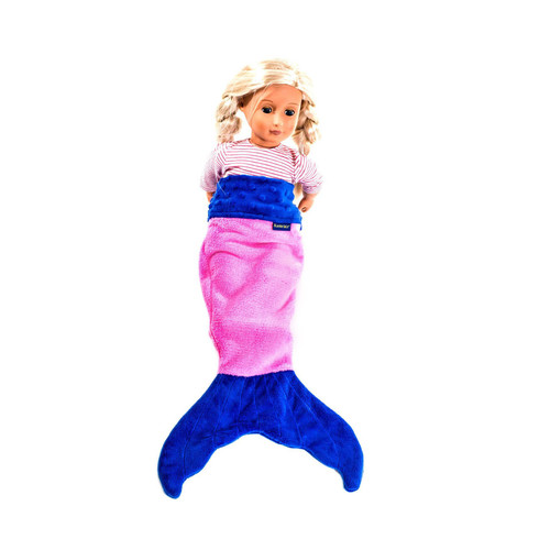 Doll Baby Mermaid Tail Pink